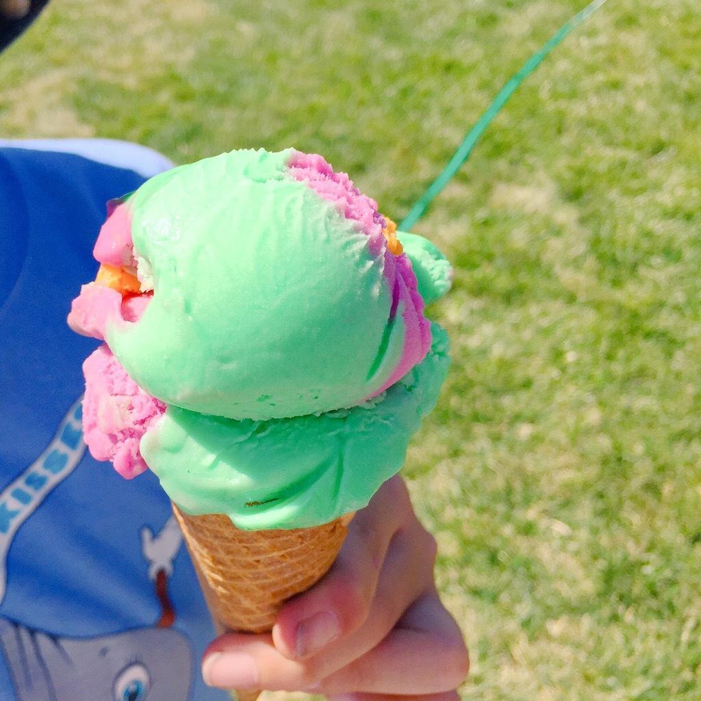 アイスクリームとドーナッツ_e0287190_17210320.jpg
