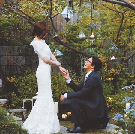 ーー今日は、ヨン様!の、結婚式~!ーー_d0060693_17303123.jpg