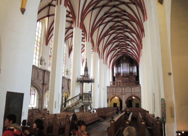 29. ドイツ鉄道のストライキに遭遇し、ライプツィヒのトーマス教会へ_f0100593_15062205.jpg