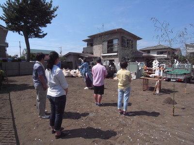 地鎮祭でした。〜辻堂Hさま邸_a0117794_1935014.jpg