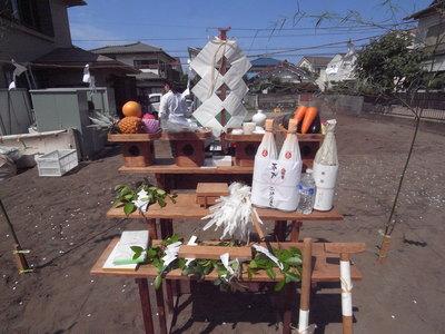 地鎮祭でした。〜辻堂Hさま邸_a0117794_194320.jpg