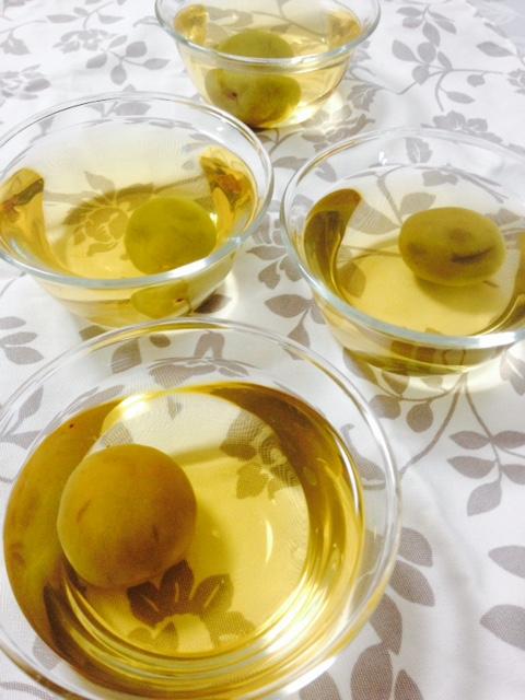 梅酒を使って_f0204295_10441989.jpg