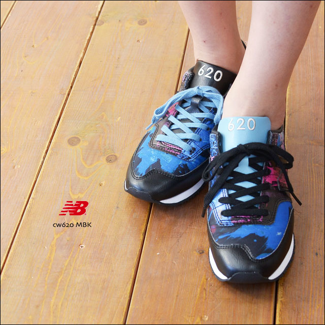 New Balance[ニューバランス] CW620 MBK /LEATHER SNEAKER  [BLACK] LADY\'S_f0051306_19234616.jpg