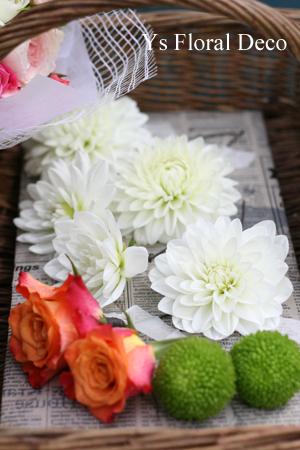 色打掛にあわせる生花のヘッドドレス_b0113510_11572568.jpg