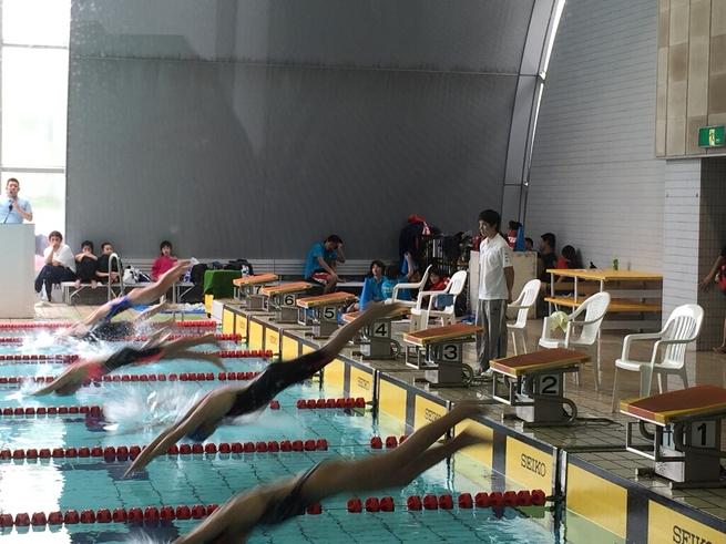 早朝カヤックと水泳とプール_c0113733_22242069.jpg