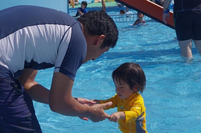 早朝カヤックと水泳とプール_c0113733_22251543.jpg
