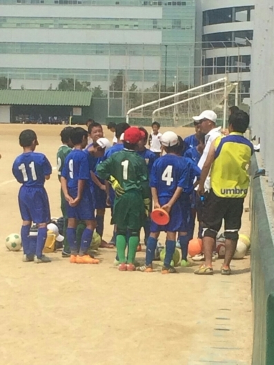 7月28日(火)  U12  千里馬CUP 朝・日親善サッカー大会_f0138335_13174797.jpg