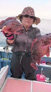 LT根魚五目_c0306546_1235419.jpg