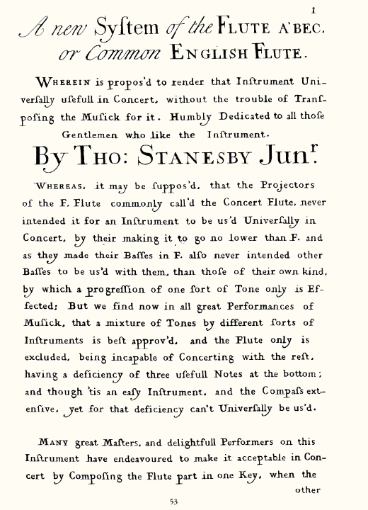 ステインズビーJr :『リコーダーの新しいシステム』(1732, ロンドン) について_a0236250_19365462.jpg