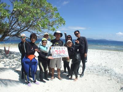 キミシマ環礁で記念ダイブ☆     JEEP IS._e0184067_18325172.jpg