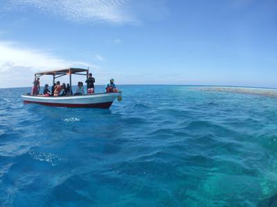 キミシマ環礁で記念ダイブ☆     JEEP IS._e0184067_18330042.jpg