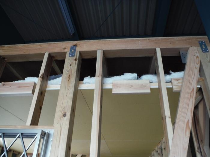 事務所の室内改装 ~ 壁、天井つくり_d0165368_4482776.jpg