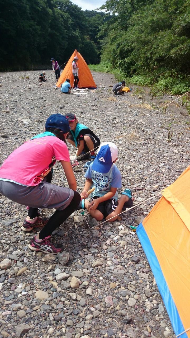 2015 夏キャンプ  1日目_e0123469_20564590.jpg