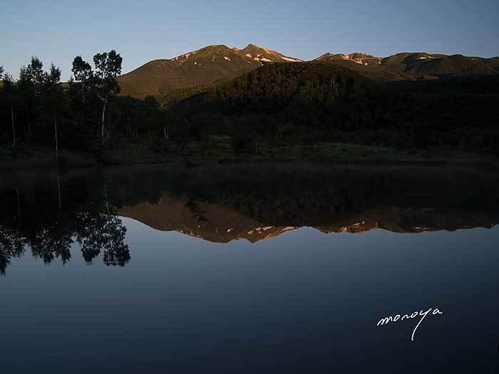 夜明けの乗鞍岳_c0085877_06545535.jpg