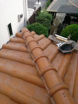 さいたま市の浦和区で瓦屋根修理。_c0223192_21444117.jpg
