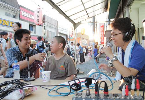オープンラジオ夏の陣 88.oMhz @守谷祇園祭_a0216706_19445564.jpg