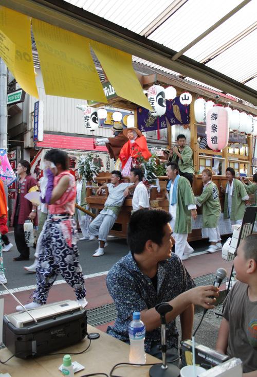 オープンラジオ夏の陣 88.oMhz @守谷祇園祭_a0216706_19462743.jpg