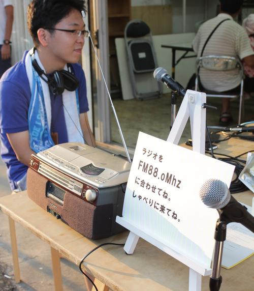 オープンラジオ夏の陣 88.oMhz @守谷祇園祭_a0216706_2028496.jpg
