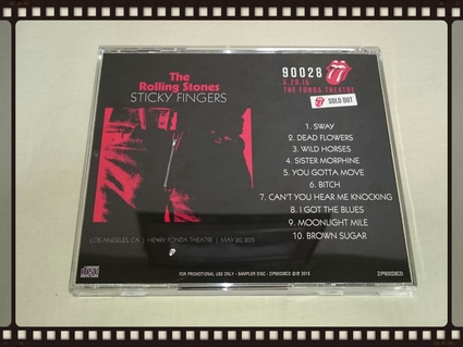 THE ROLLING STONES / STICKY FINGERS LIVE_b0042308_8315035.jpg