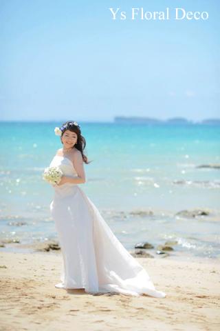 ブルー系の花冠 沖縄へ_b0113510_1318857.jpg
