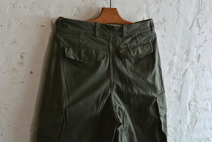 French army M47 pants dead stock_f0226051_16532412.jpg