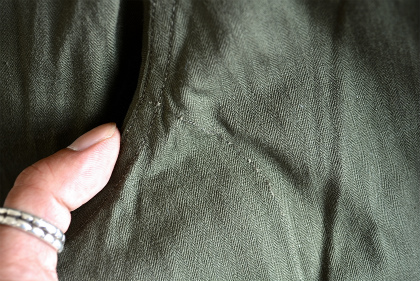 French army M47 pants dead stock_f0226051_16544571.jpg
