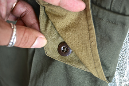 French army M47 pants dead stock_f0226051_16565317.jpg