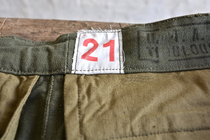 French army M47 pants dead stock_f0226051_172370.jpg