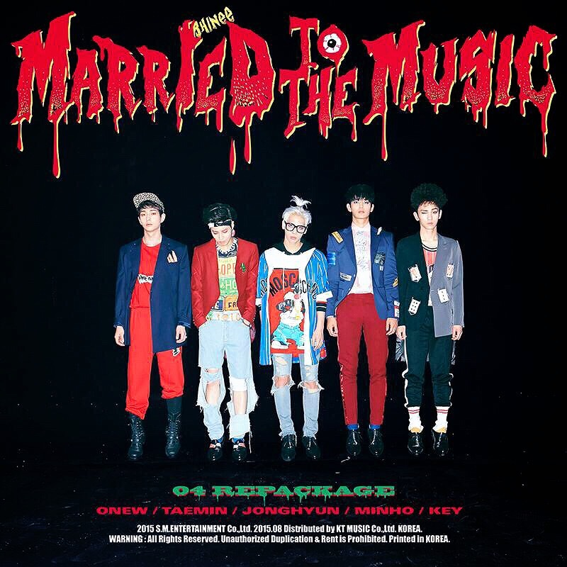 Image result for married to the music shinee album cover