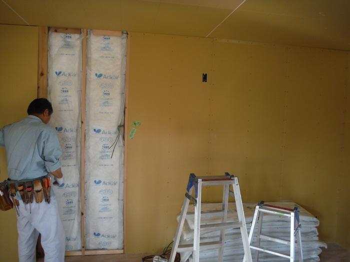 事務所の室内改装 ~ 床、内壁つくり_d0165368_15465124.jpg