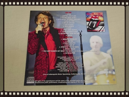 THE ROLLING STONES / INDIANAPOLIS MOTOR SPEEDWAY 2015 ANOTHER MASTER_b0042308_744132.jpg