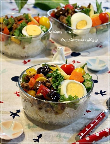 カラフル麻婆茄子丼弁当とトマト酵母山食でサンドイッチ♪_f0348032_19224242.jpg