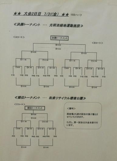 7月30日(木)  U12 第13回和泉国際招待試合_f0138335_10072884.jpg