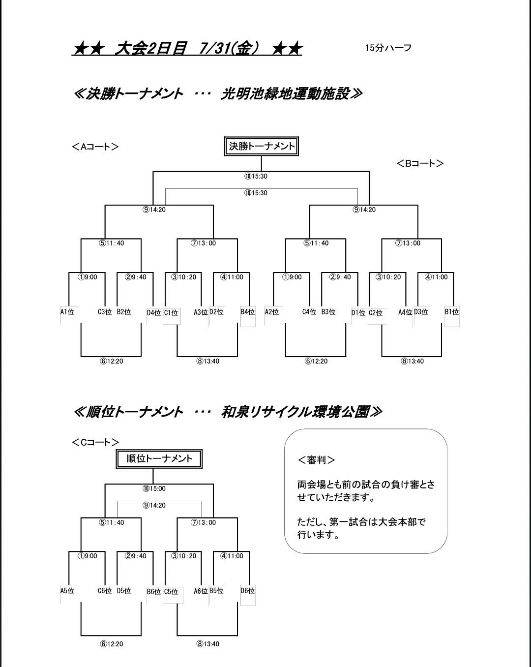 7月31日(金)  U12 第13回和泉国際招待試合_f0138335_21524511.jpg