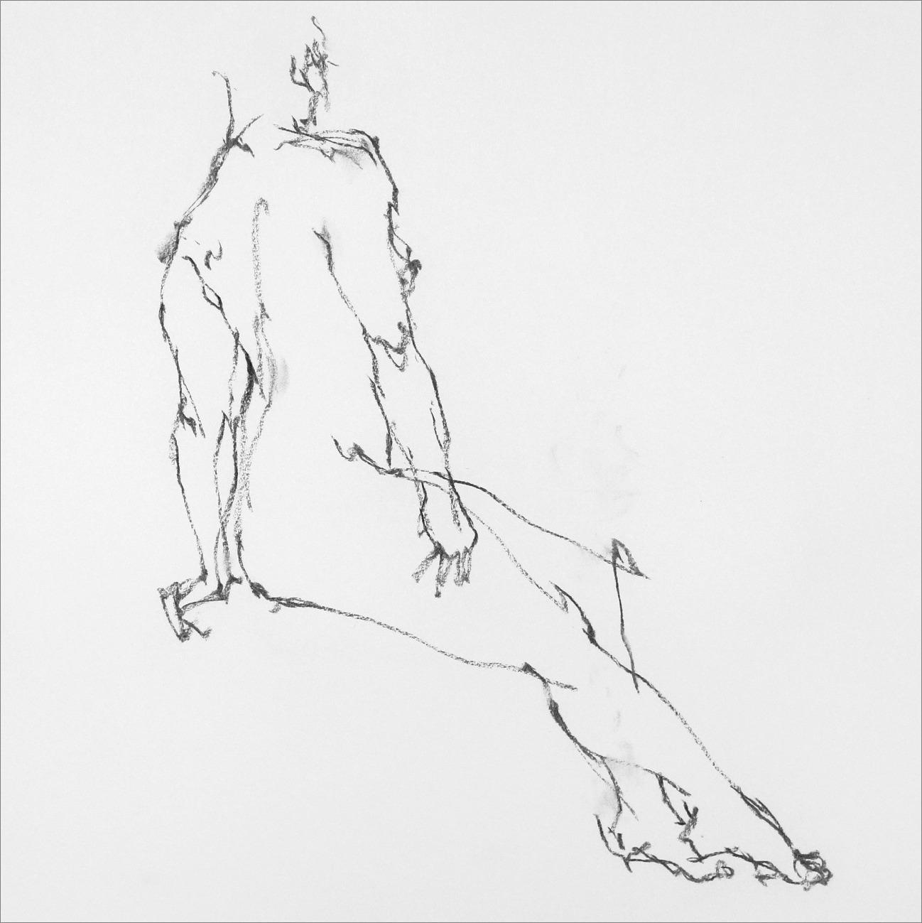 《 Croquis 裸婦線描×3 》_f0159856_11432958.jpg