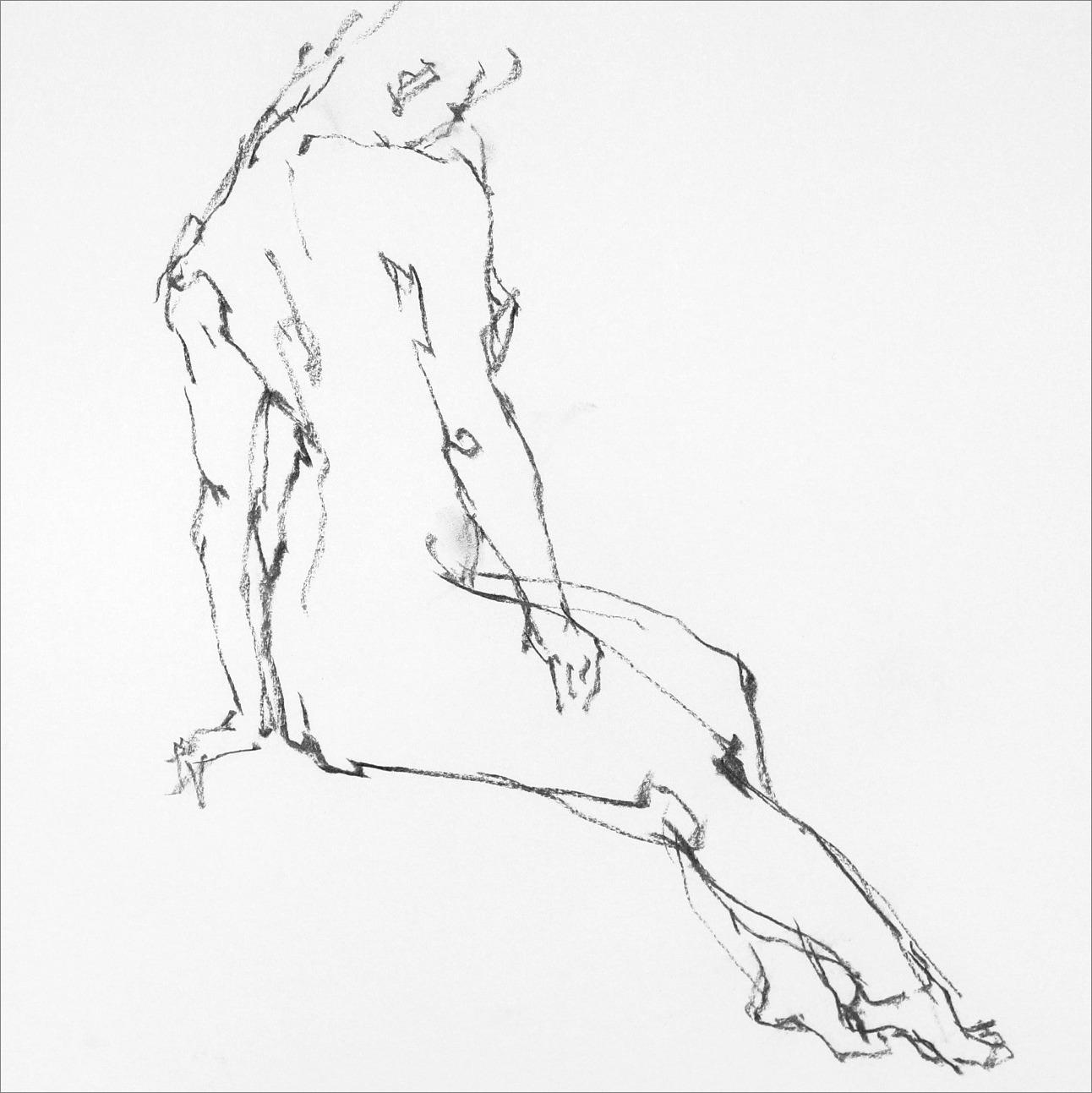 《 Croquis 裸婦線描×3 》_f0159856_11452386.jpg
