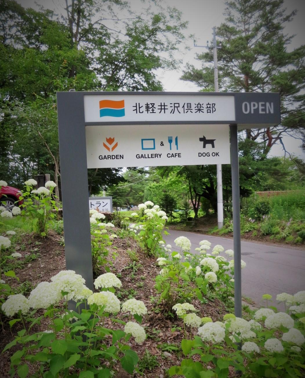 夏だけのビストロ~北軽井沢倶楽部のディナー_f0236260_20564328.jpg