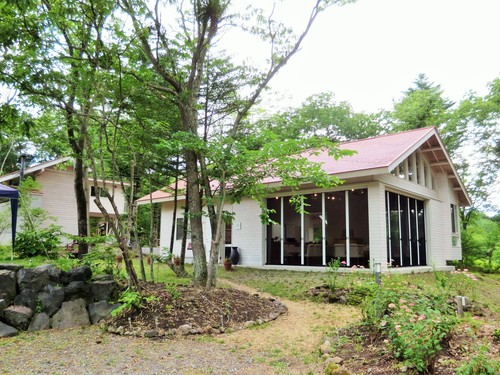 夏だけのビストロ~北軽井沢倶楽部のディナー_f0236260_2165154.jpg