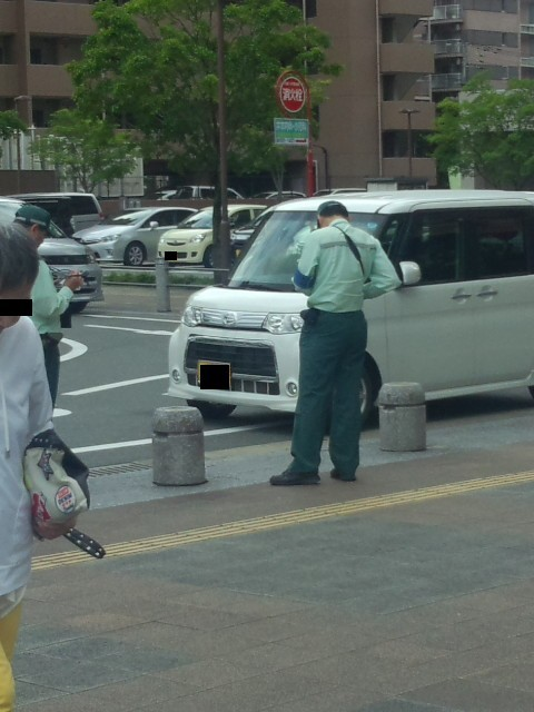 どうしても交通巡視員に納得できない : ボケ爺さんの独り言