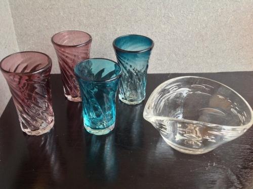 沖縄ガラス  屋我平尋さんの器 新入荷_b0153663_22472636.jpg
