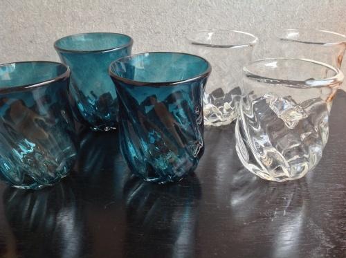 沖縄ガラス  屋我平尋さんの器 新入荷_b0153663_22481056.jpg