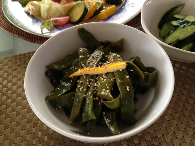 小さな夏野菜たちで・・_b0236665_15271870.jpg