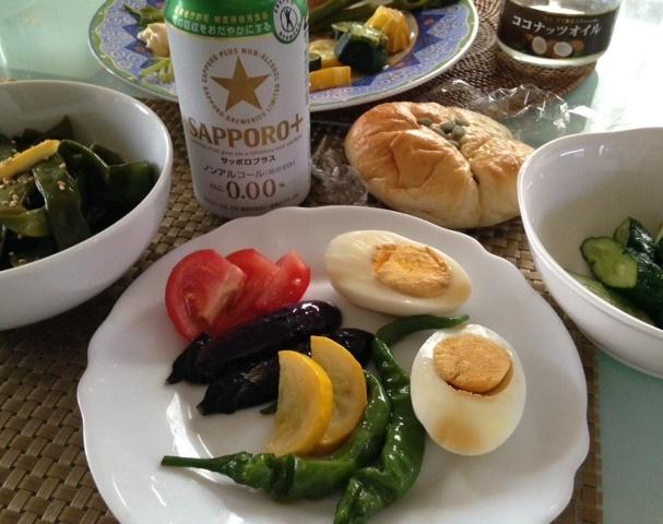 小さな夏野菜たちで・・_b0236665_15324019.jpg