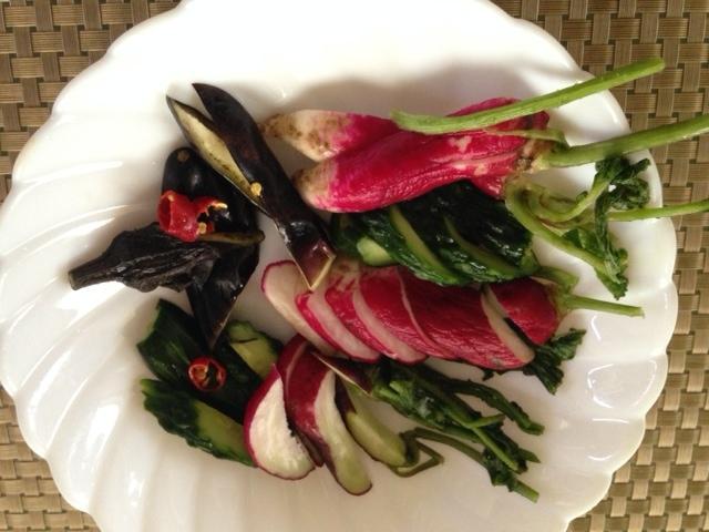 小さな夏野菜たちで・・_b0236665_15431606.jpg