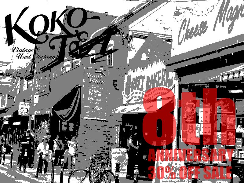 KOKO-TEA 8th ANNIVERSARY SALE!_c0176867_12524521.jpg
