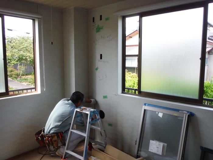 事務所の室内改装 ~ トイレの移設_d0165368_83143.jpg