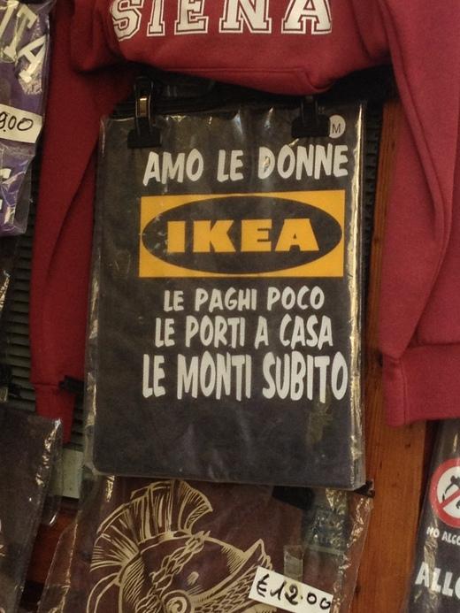 IKEAはTシャツになるくらい凄いと思う。_a0136671_0174972.jpg