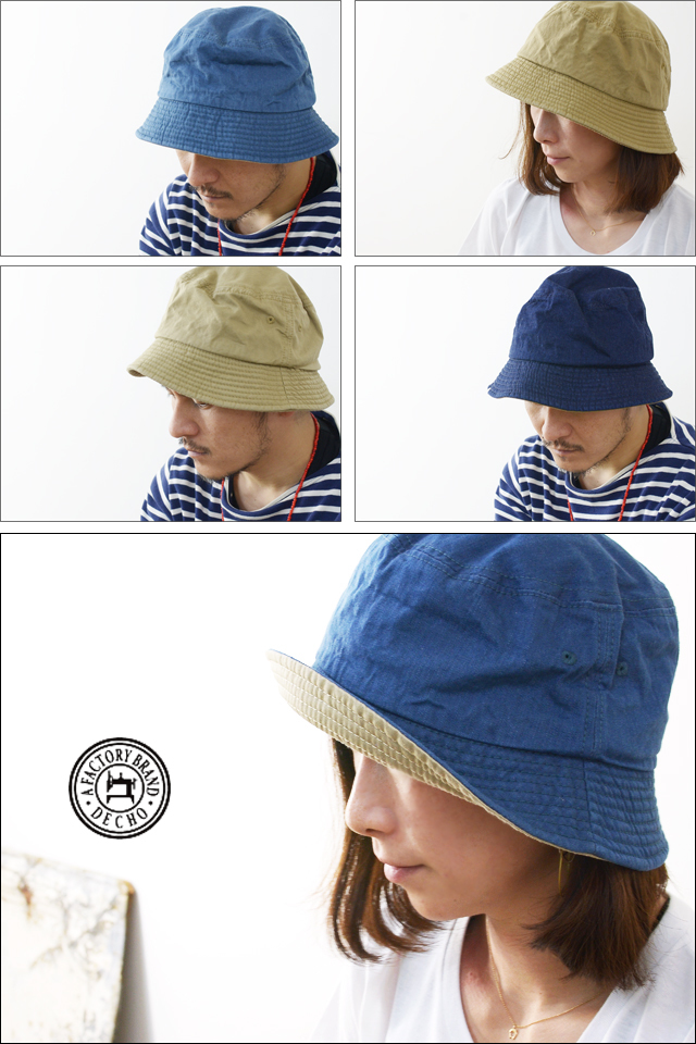 DECHO[デコー] STANDARD BUCKET HAT [D-5] MEN\'S/LADY\'S_f0051306_15064338.jpg