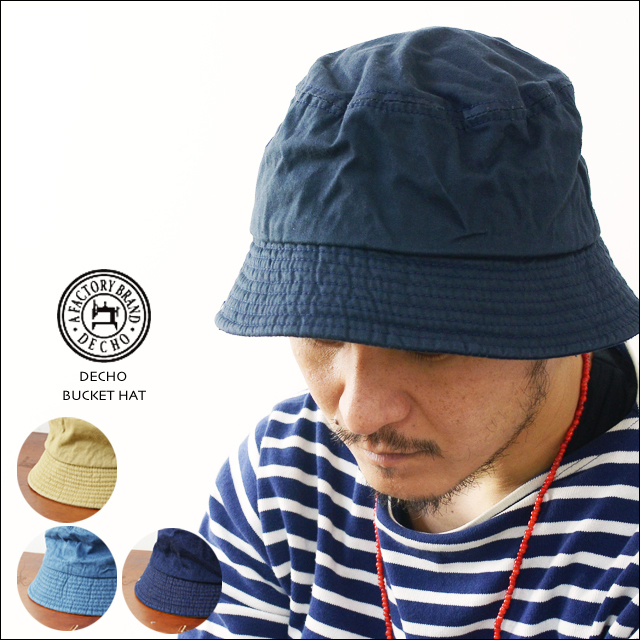 DECHO[デコー] STANDARD BUCKET HAT [D-5] MEN\'S/LADY\'S_f0051306_15064395.jpg