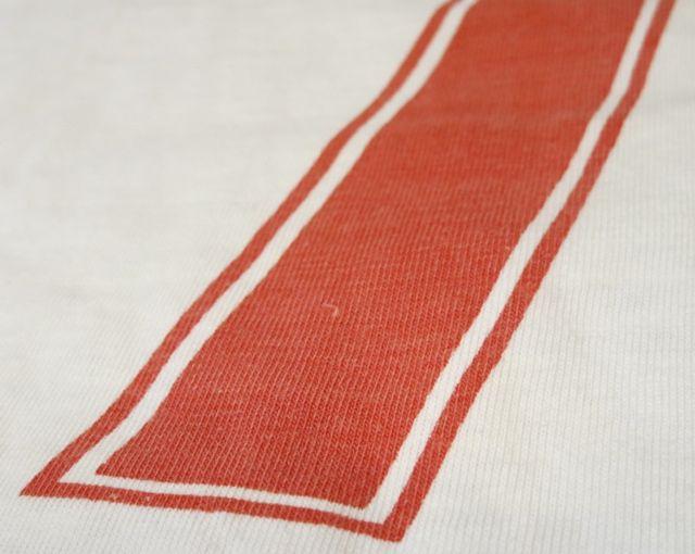 8/1(土)入荷!70's〜染込みプリント!ナンバリング リンガーTシャツ!_c0144020_1551524.jpg